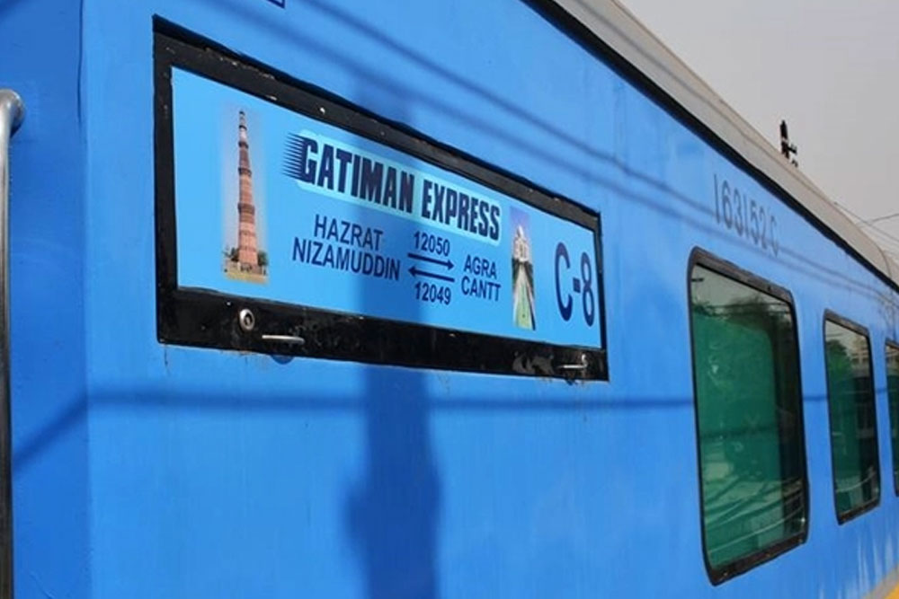 Same Day Agra By Gatimaan Express